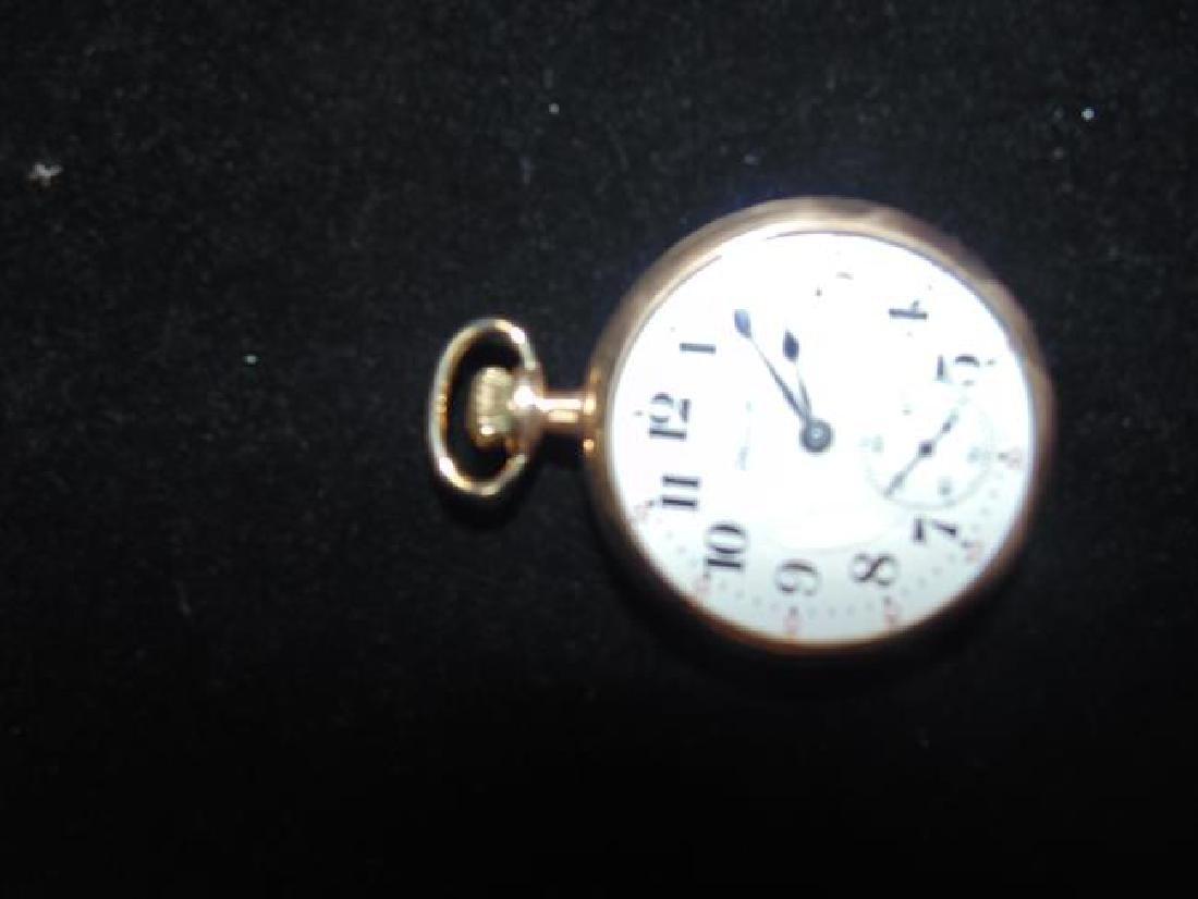 Hamilton Railroad Gold Case Pocket Watch