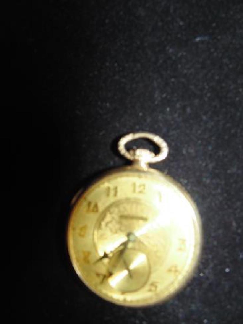 Duber 14K Gold Filled Pocket Watch