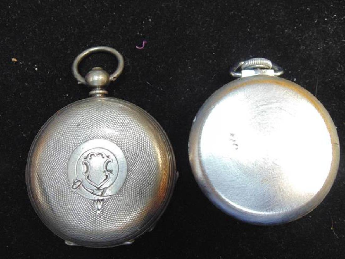 Exhibition Prize Metal and Ingraham Pocket Watches - 2