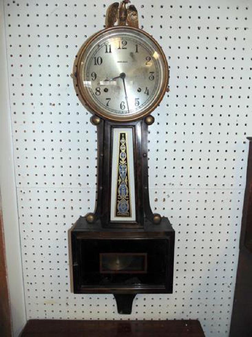 19thc Ingraham Banjo Clock