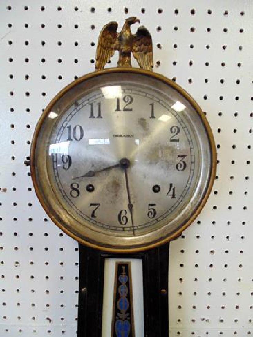 19thc Ingraham Banjo Clock - 3