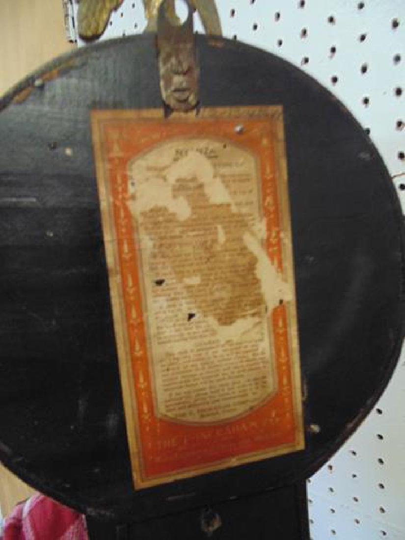 19thc Ingraham Banjo Clock - 4