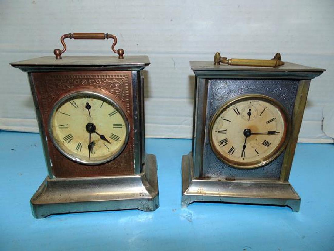 Seth Thomas & Junghans Carriage Clocks
