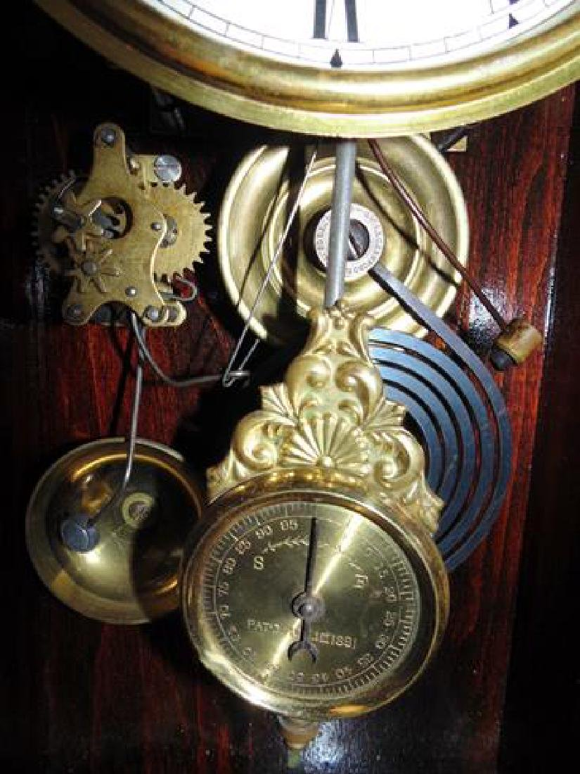 Jenny Lind Parlor Clock With Cupids & Mirror Sides - 4
