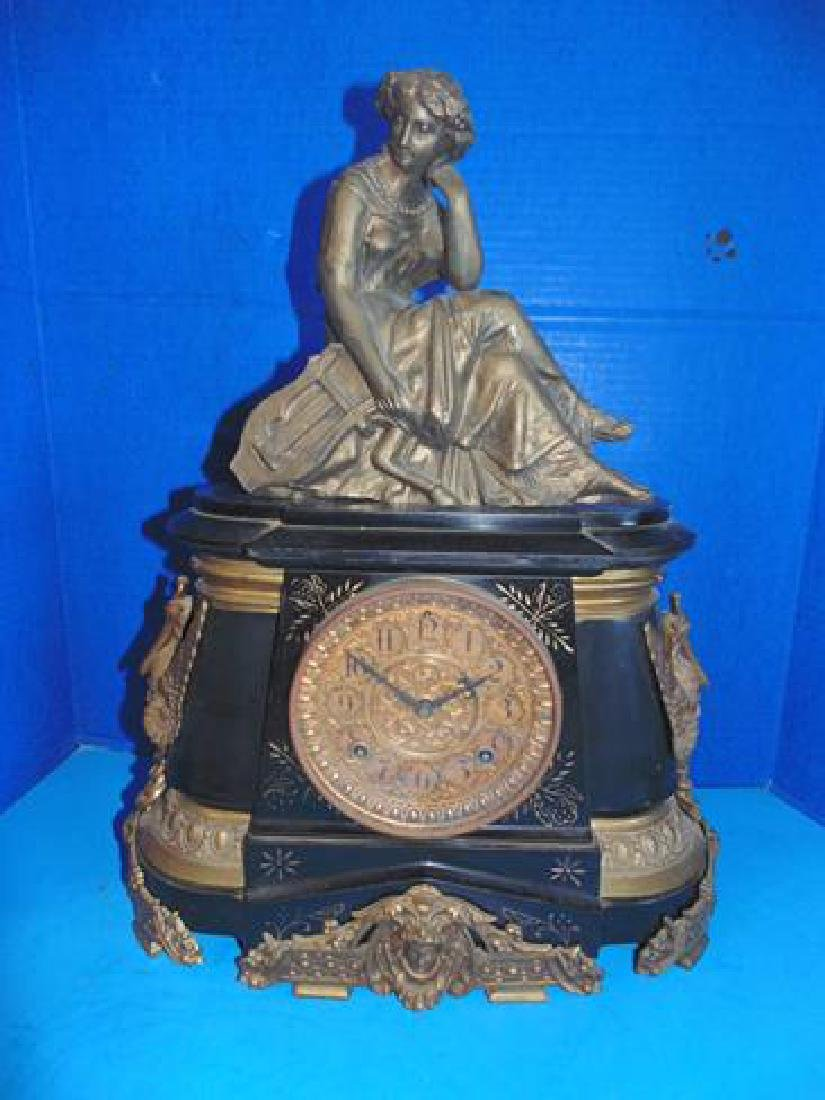 Ansonia Ornate Shelf Clock