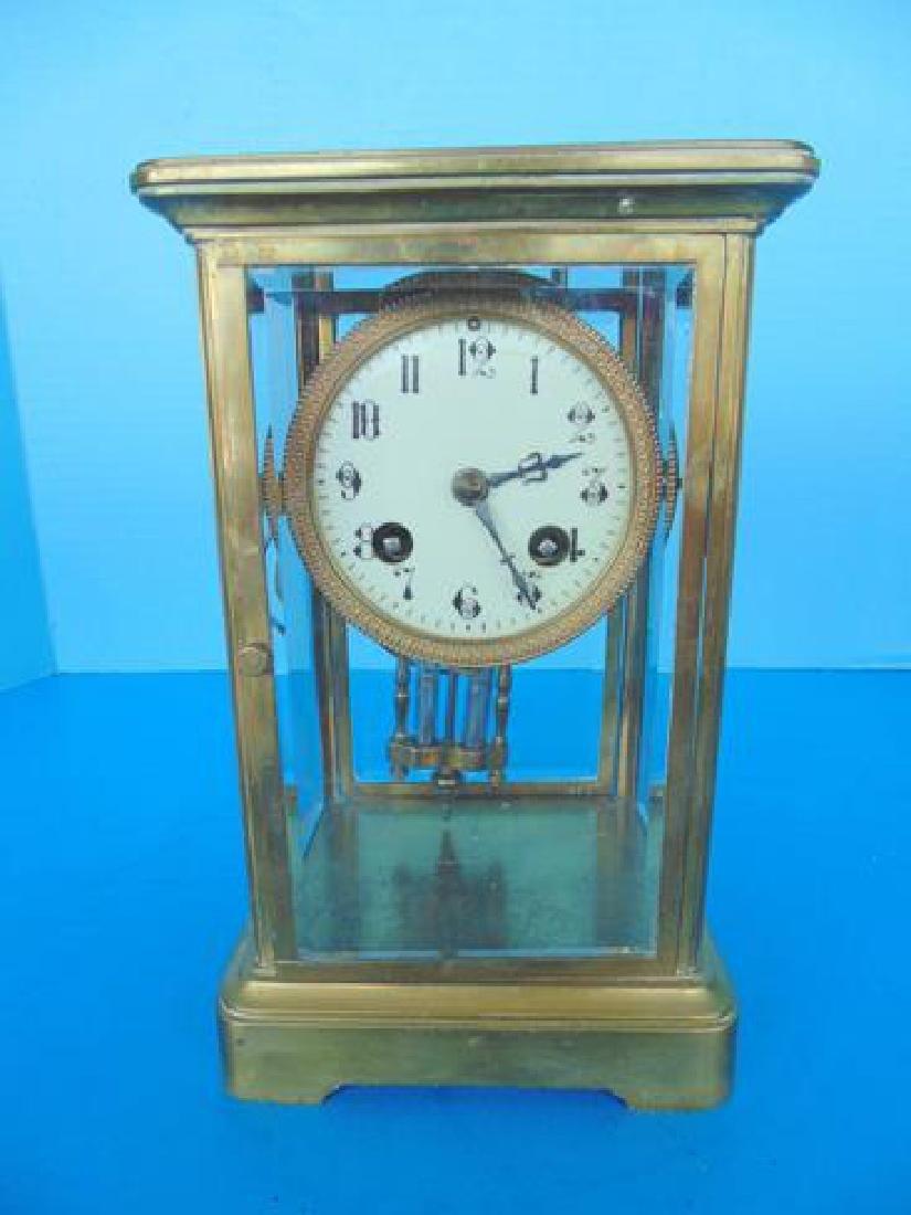 French Brass Regulator Clock