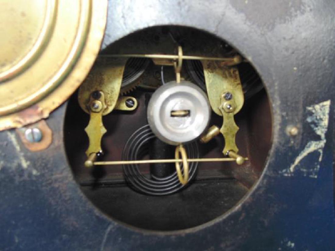 Black Laquer Mantle Clock - 2