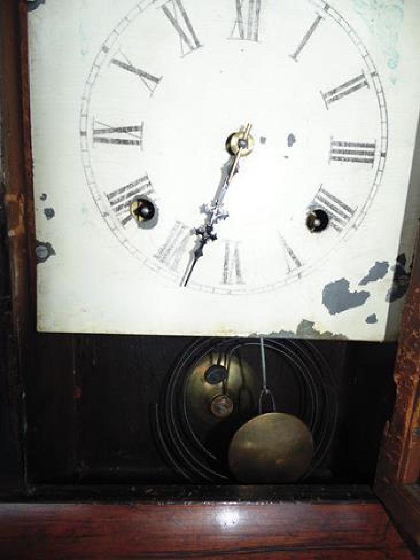 Rosewood Column Clock - 2