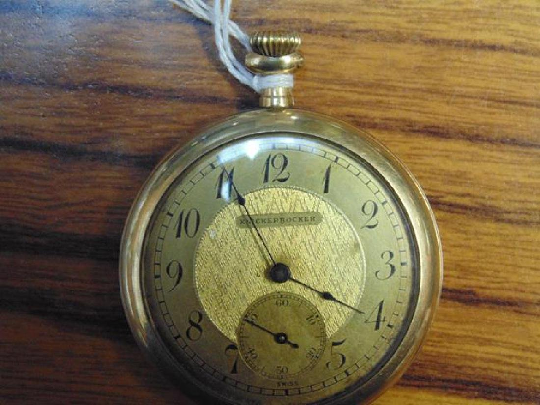 Illinois Gold Pocket Watch