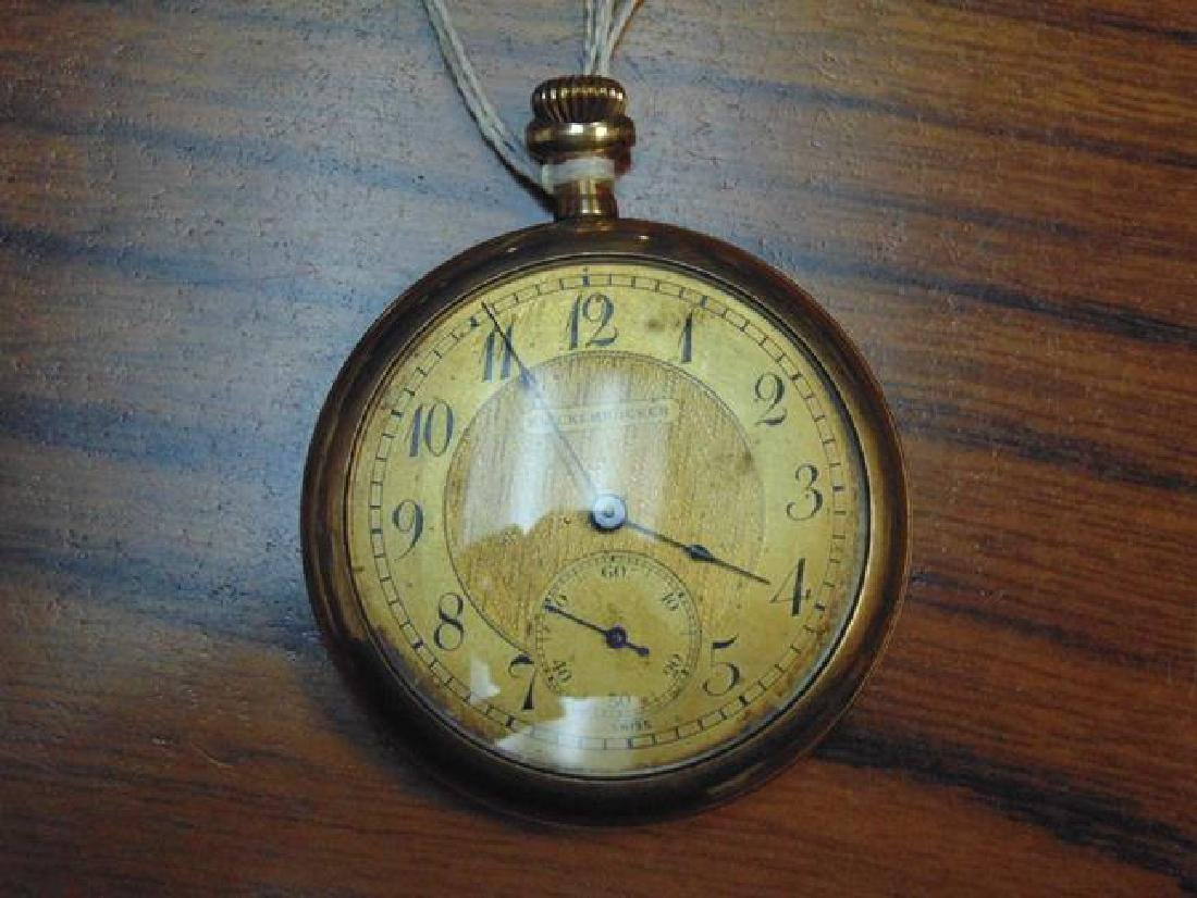Illinois Gold Pocket Watch - 2