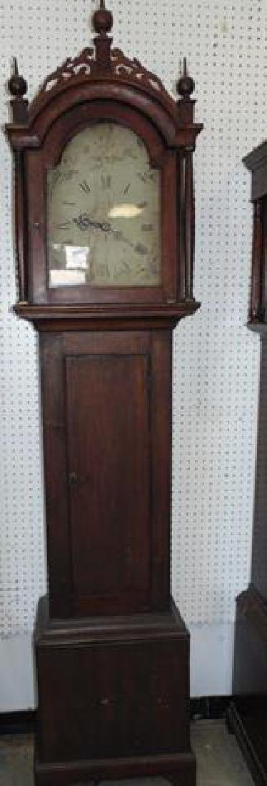 Early Grandfather Clock