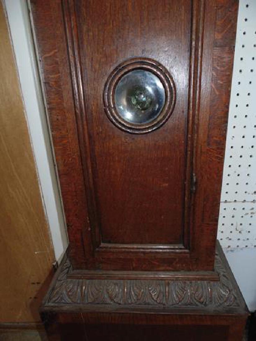 Oak Grandfather Clock - 2