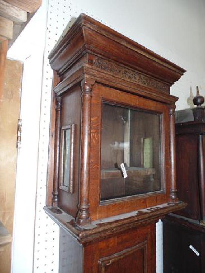 Oak Grandfather Clock - 3
