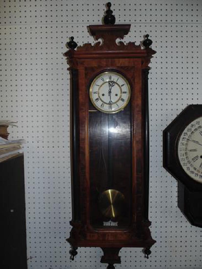 Vienna Regulator Wall Clock