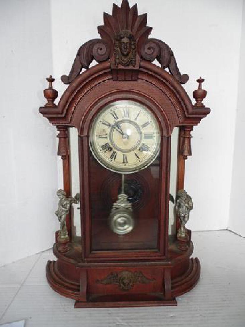 Ansonia Jenny Lind & Cherub Clock