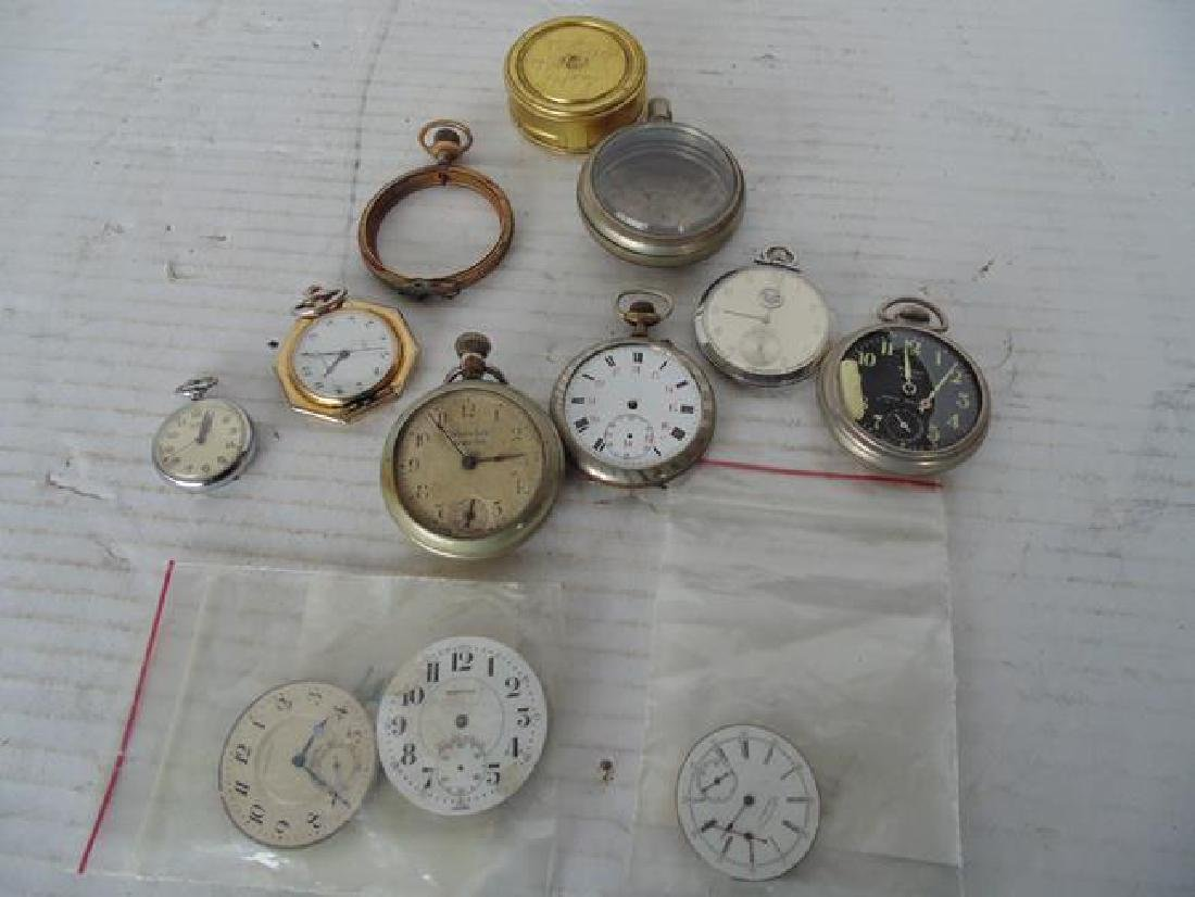 Pocket Watch Parts
