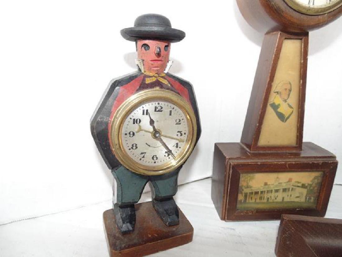 3 Wind Up Clocks - 2