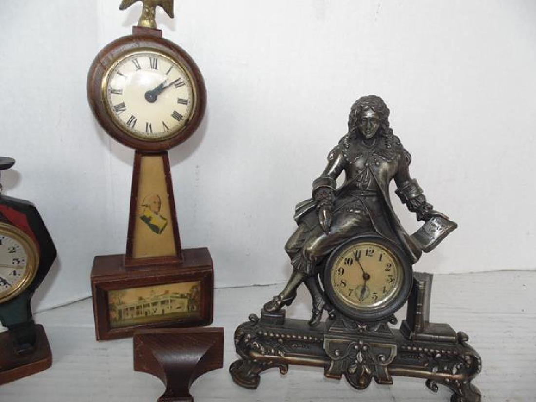 3 Wind Up Clocks - 3