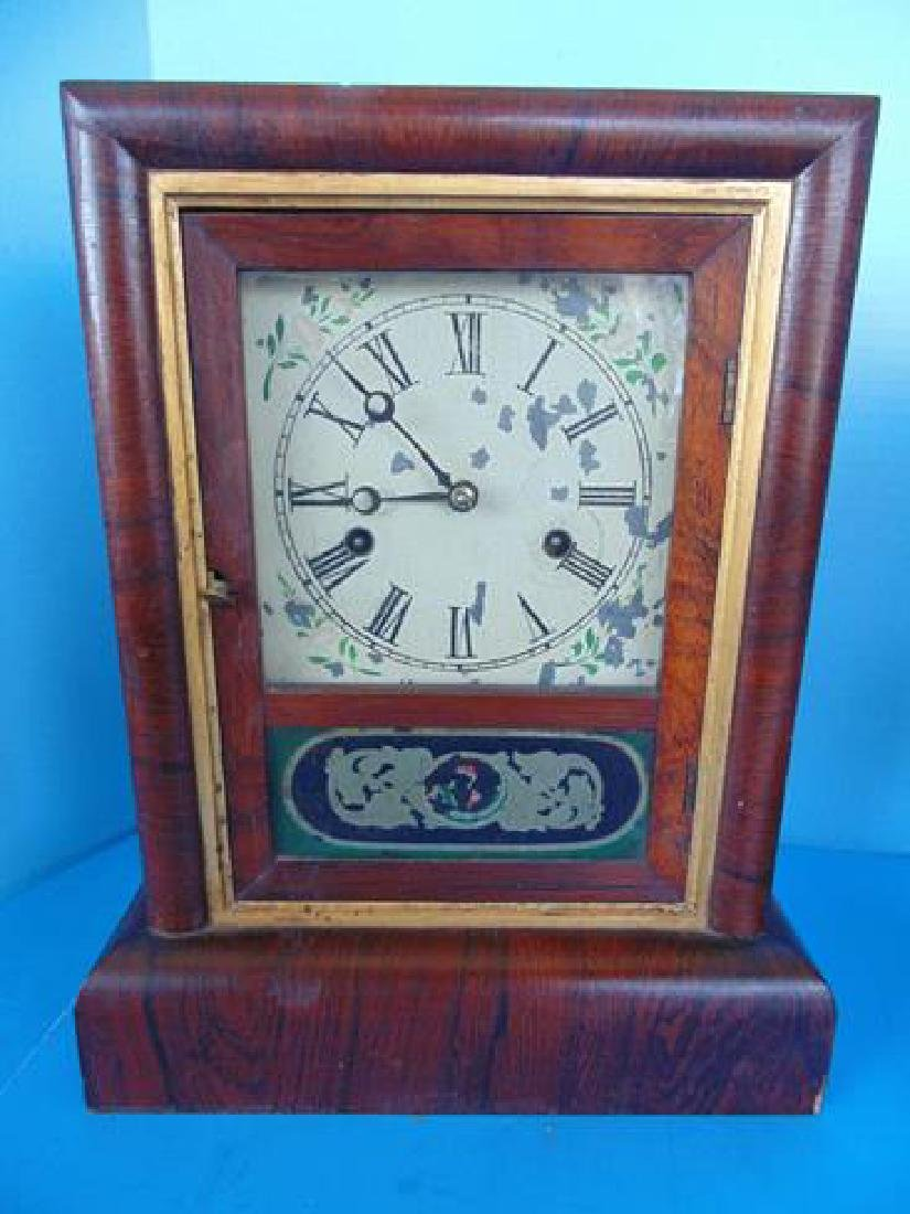 Gilbert 8 Day Rosewood Clock