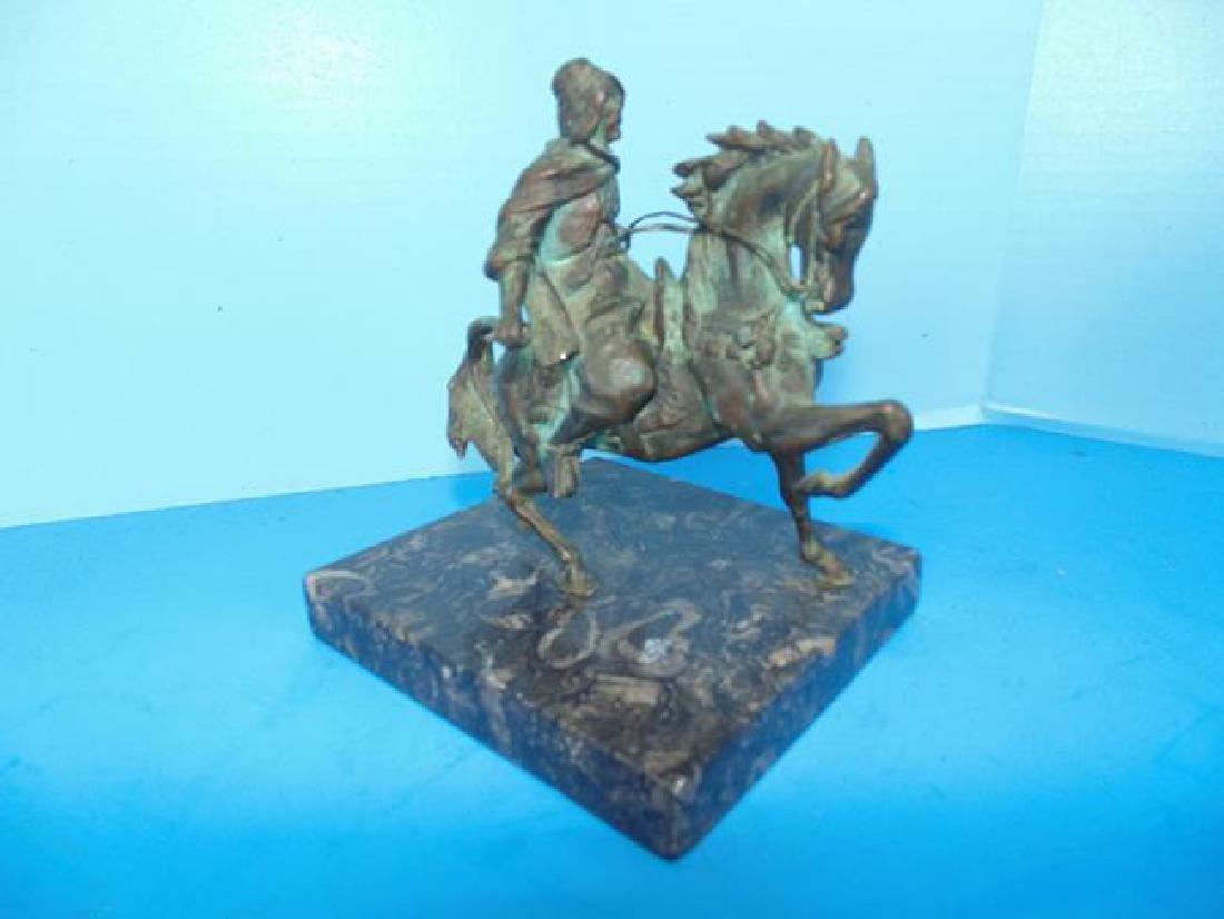 Bronze Arabian Horseman