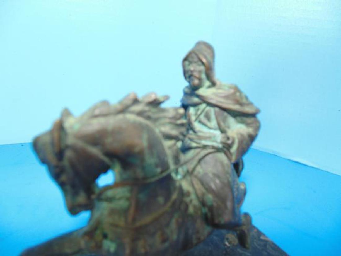 Bronze Arabian Horseman - 2