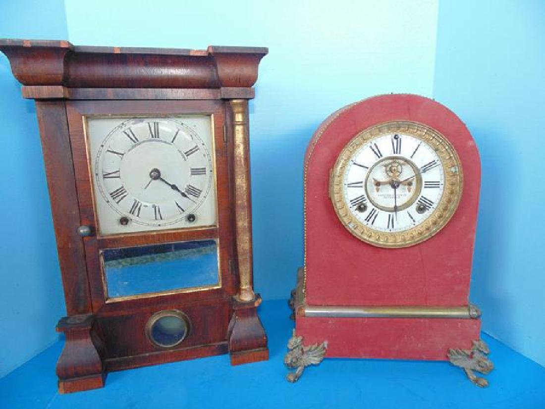 Ansonia & Seth Thomas Mantle Clocks