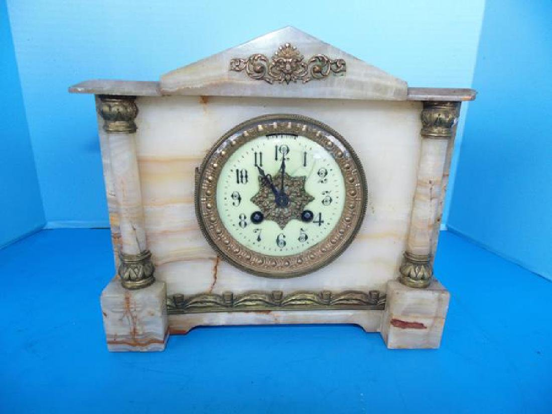 Marble Mantle Clock