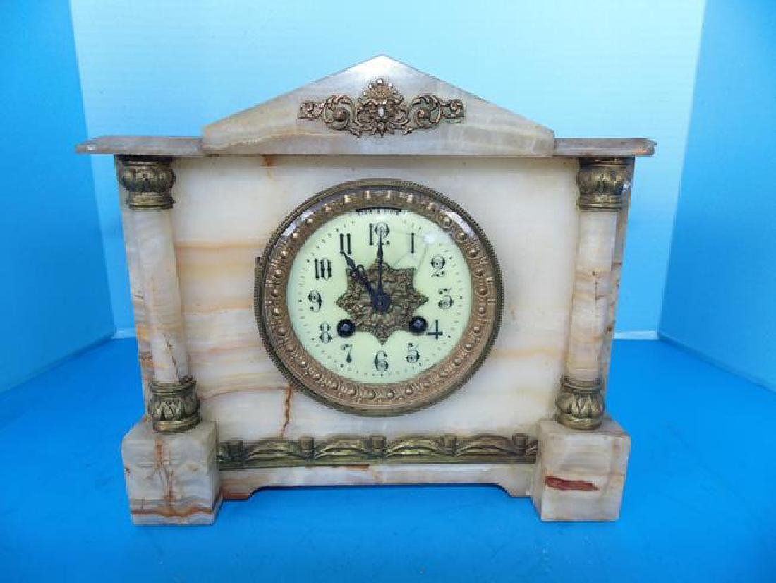 Marble Mantle Clock - 2