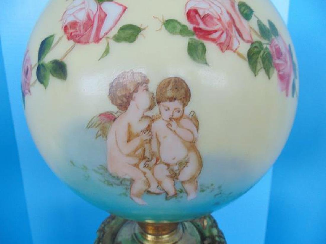 Cupid Gone With The Wind  Lamp - 2