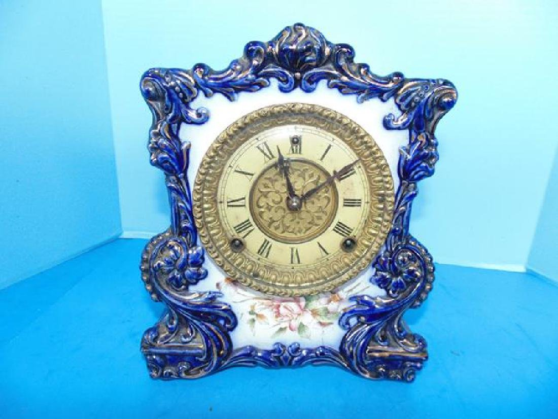 Gilbert Porcelain Clock