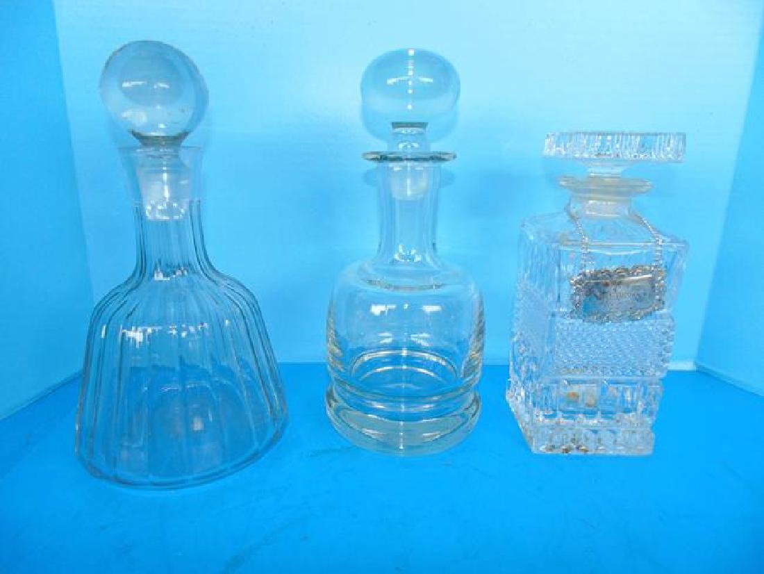 Blown Glass Decanters