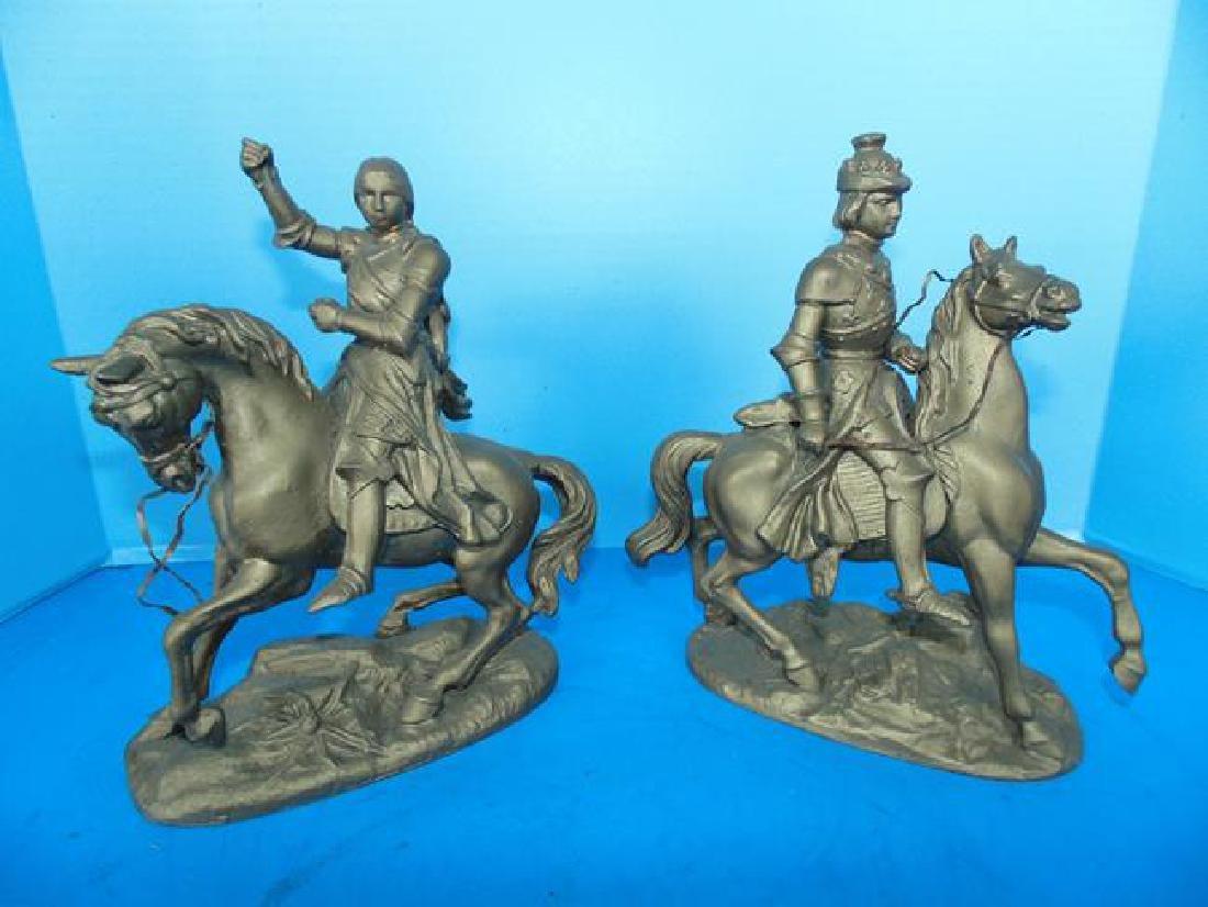 Spelter Figures