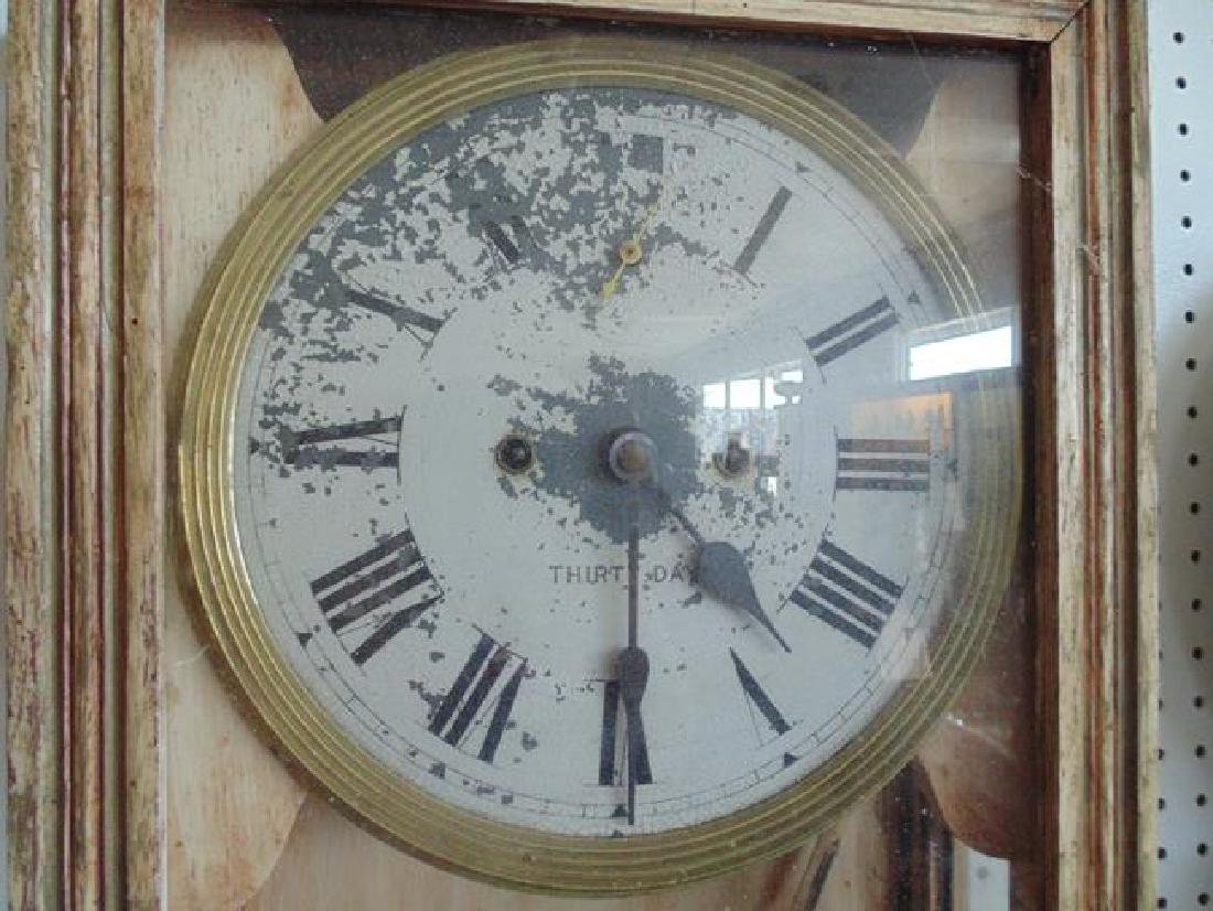 Eight Day Regulator Clock - 2