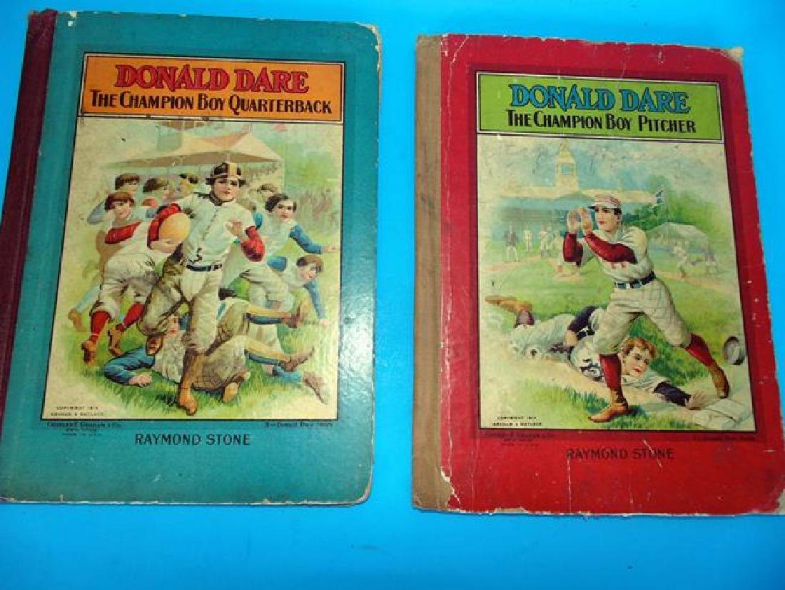 1914  Donald Dare Football & Baseball Books