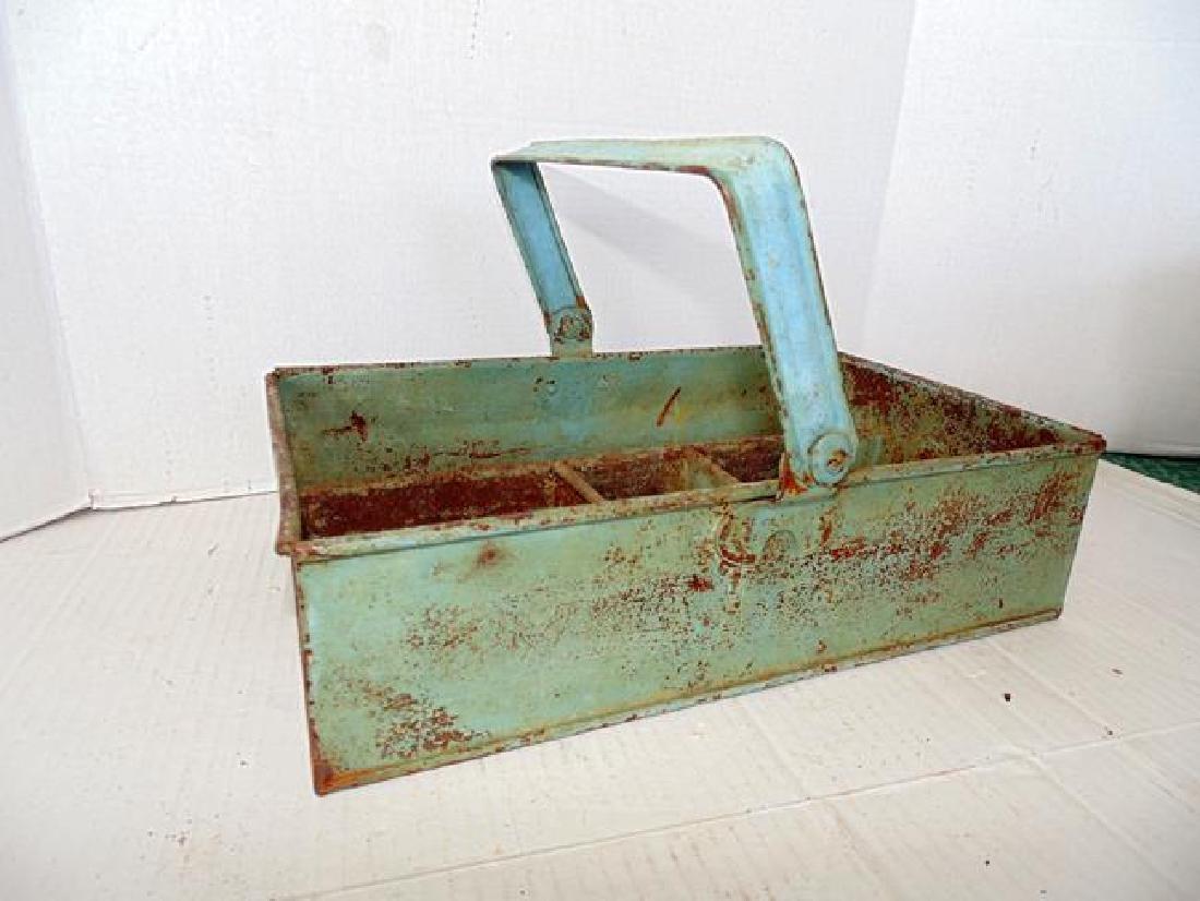 Painted Metal Carrier