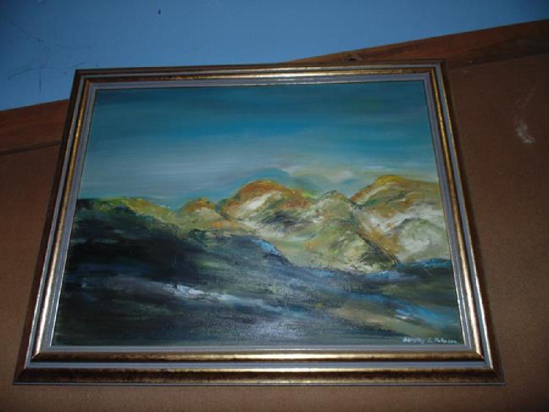 Signed Landscape Painting