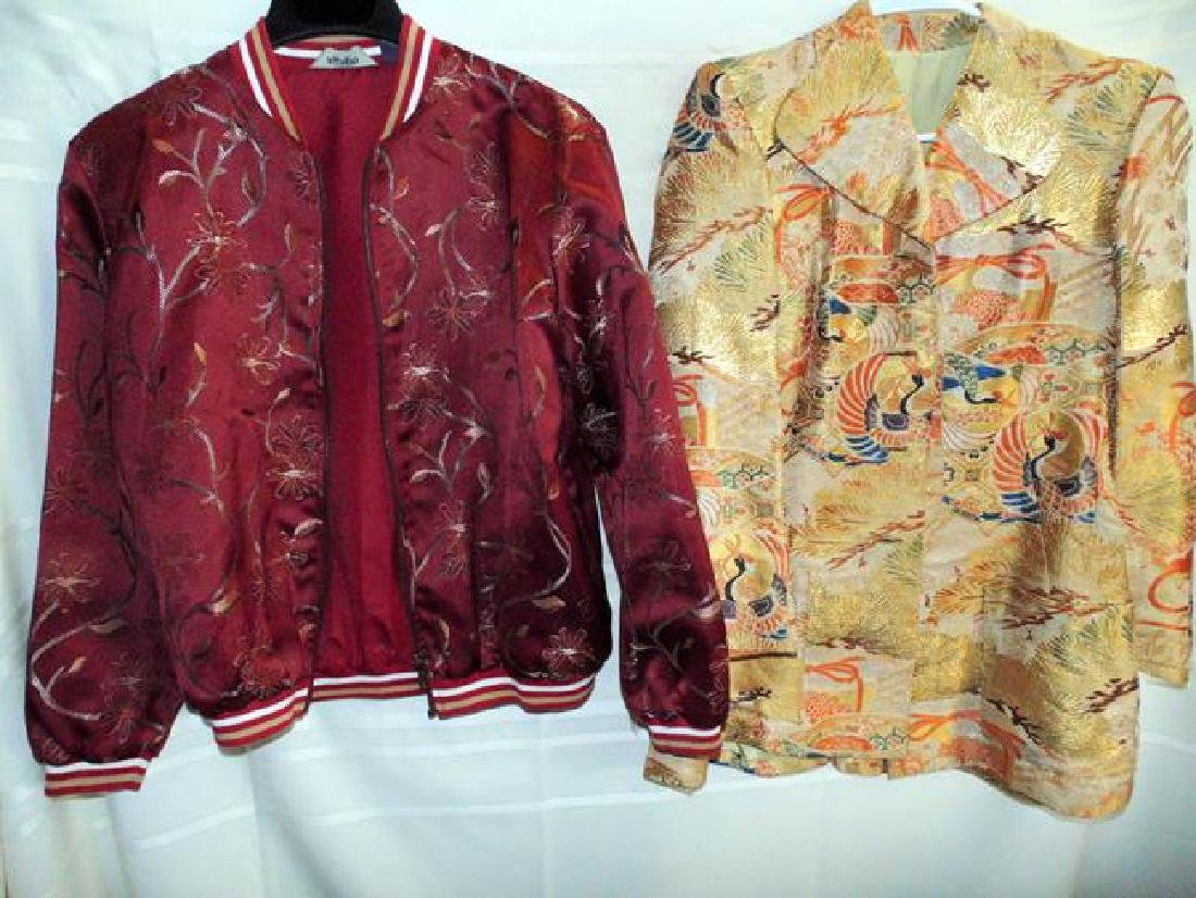 Agapo Silk Jacket & Peacock Jacket