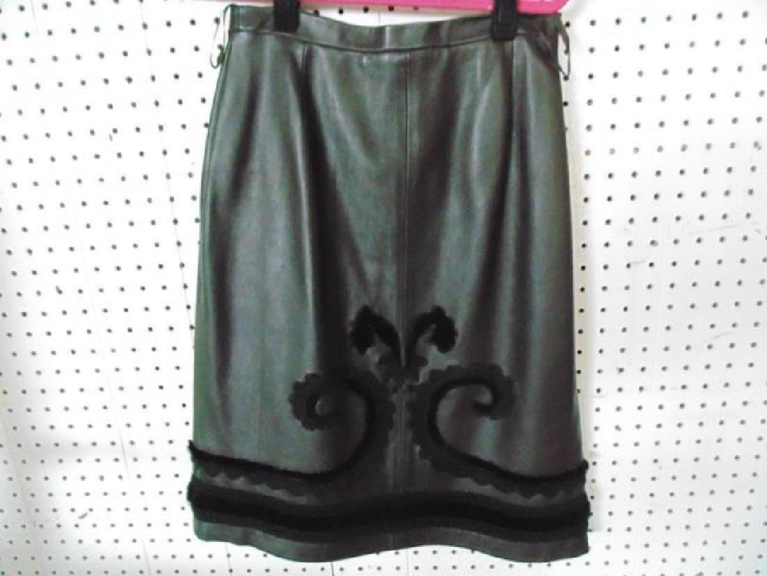 Carlisle Leather Skirt