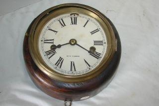 5: Seth Thomas Ship Clock 8 1/2 diameter.