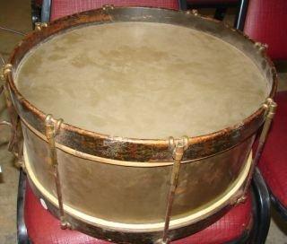 8: Brass Civil War Snare Drum