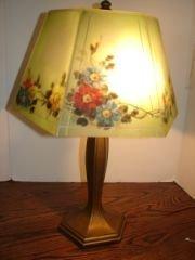17: Floral Jefferson Lamp 105175