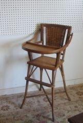 20: Wicker Hich Chair 45080