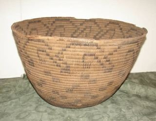 13: Native American Indian Basket