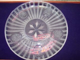 14: Etched  Plate Signed Hawkes