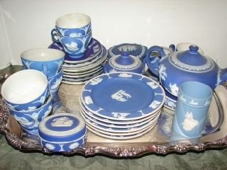 30: Large Group of  Wedgewood Pieces