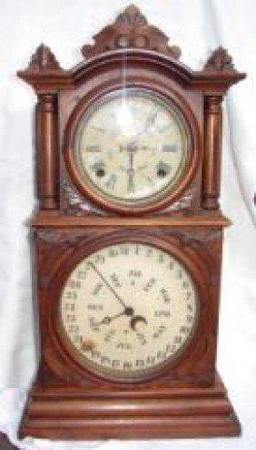 Double Dial  Calendar Clock