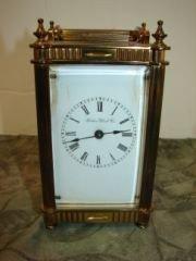 34: Carriage Clock Boston Clock Co.
