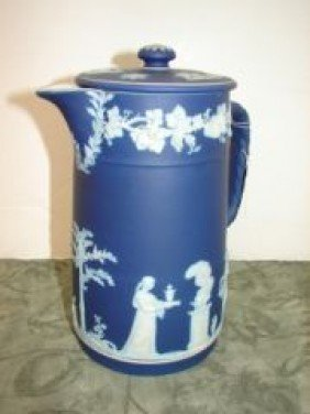 Wedgewood Covered Pitcher