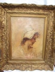 45: Oil on CanvasYoung Girl by Pinchot