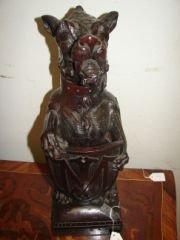 2: Black Forest Carved Wood Scottie Dog